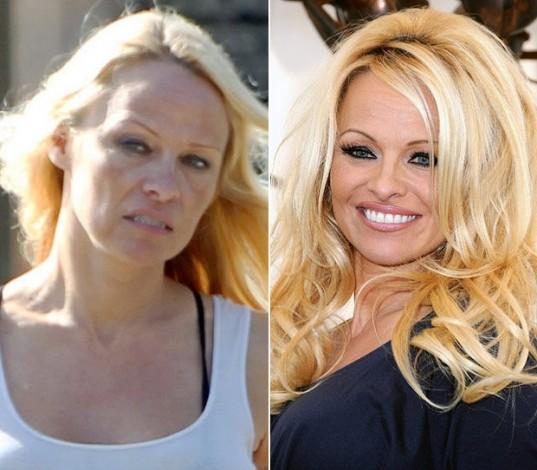 Nhìn bộ dạng của Pamela Anderson, nhiều người sẽ thấy khó tin được cô từng là một siêu mẫu.