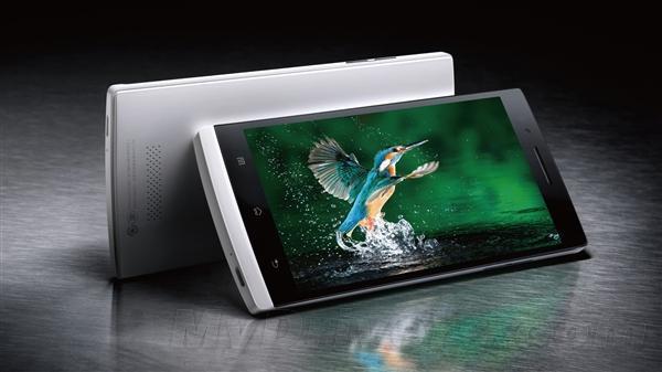 Mẫu Oppo Find 7 được trang bị màn hình 2k và công nghệ 4G