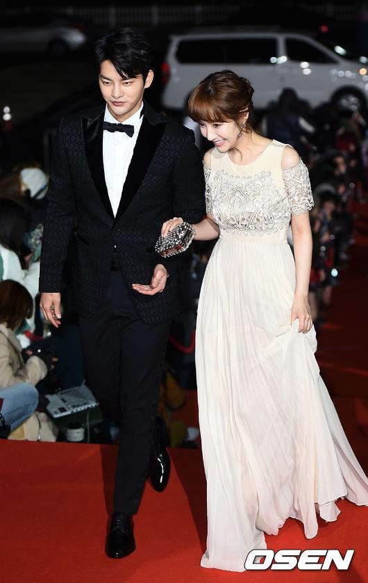 Seo In Guk và Park Min Young