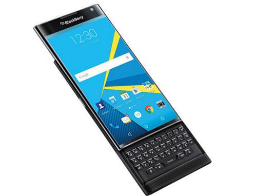 BlackBerry Priv sở hữu màn hình 5,4 inch với độ phân giải 2560 x 1440 pixel