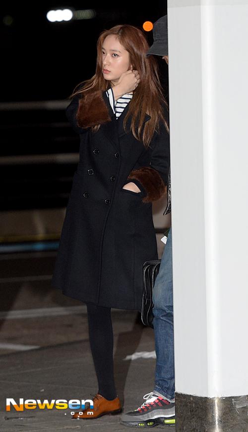 Krystal của F(x) đã đáp chuyến bay đêm tới Hong Kong
