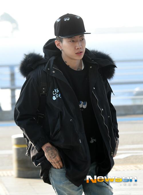 Jay Park tự tin để mặt mộc