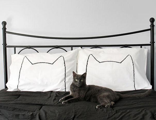 Những chiếc gối hình mèo có thể trở thành món đồ không thể thiếu trong phòng bạn