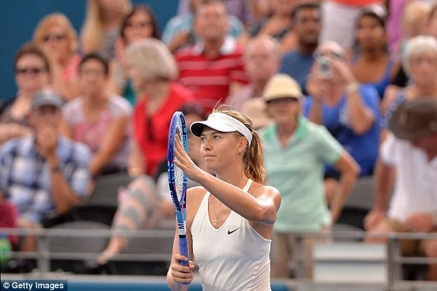 Maria Sharapova vào bán kết WTA Brisbane International 2015