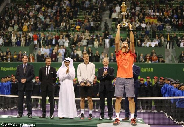 David Ferrer có danh hiệu đầu tiên trong mùa giải 2015