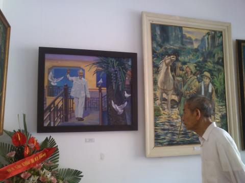 Triển lãm mở cửa hết ngày 24/5 tại Nhà triển lãm 29, Hàng Bài, Hà Nội.