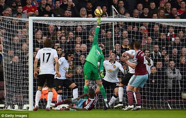De Gea đang có phong độ cực tôt cùng Man Utd mùa giải năm nay