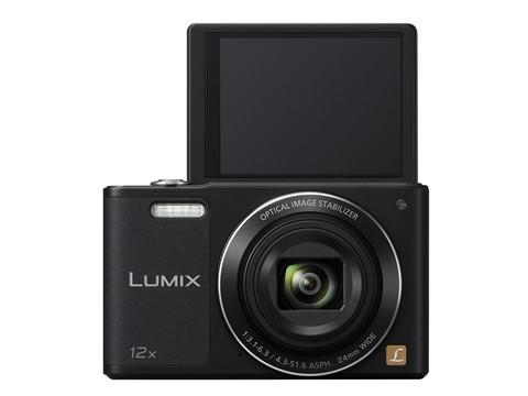 Lumix DMC SZ10 sở hữu màn hình LCD lật