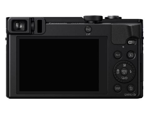 Lumix DMC ZS50 với màn hình LCD 3 inch