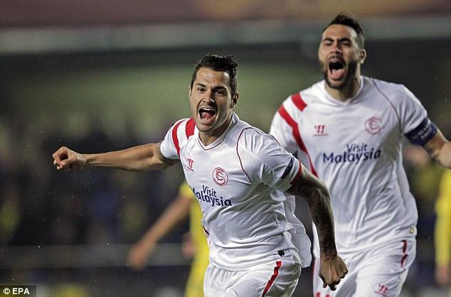 Sevilla gần như đã chắc một suất vào vòng tứ kết