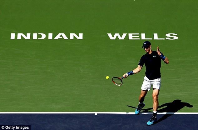 Andy Murray đã ghi tên mình vào bán kết Indian Wells 2015