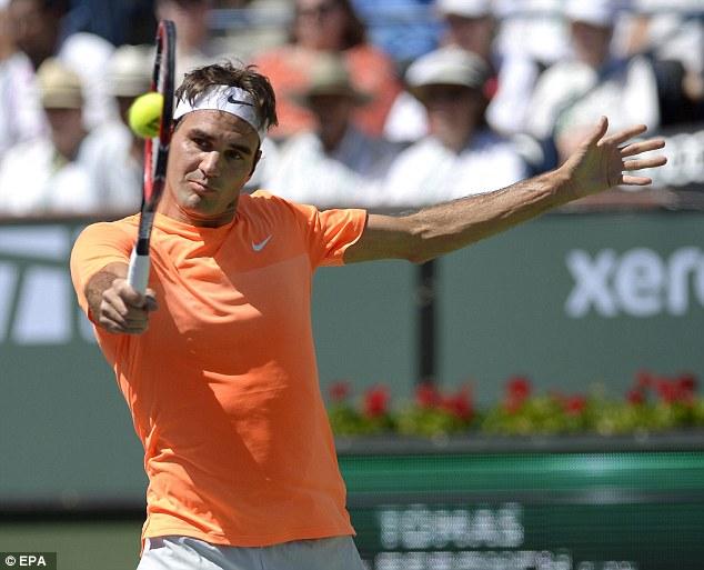 Lần thứ 5 Roger Federer  vào chung kết Indian Wells