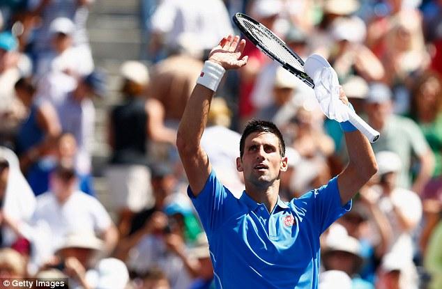 Djokovic dễ dàng đánh bại Murray