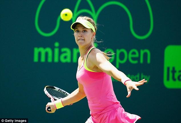 Bouchard cũng như Masha đã rời cuộc chơi sớm ở Miami Open năm nay.