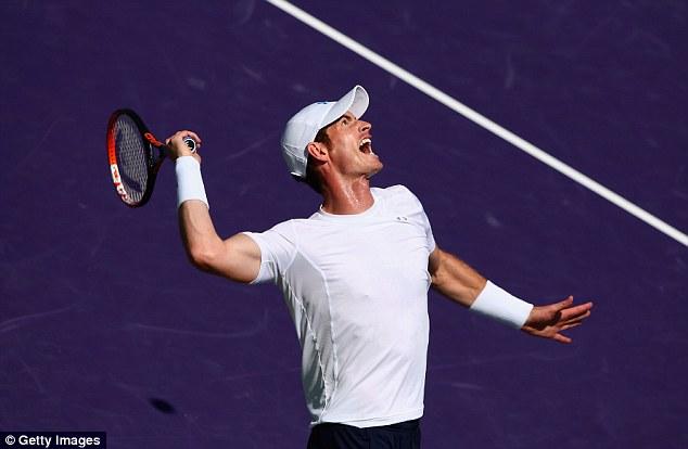 Andy Murray đã lọt vào vòng 4 Miami Open 2015: