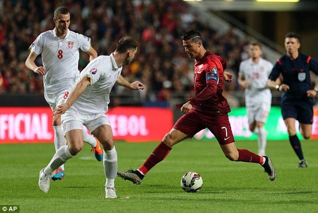Cris Ronaldo không ghi bàn song Bồ Đào Nha vẫn giành chiến thắng