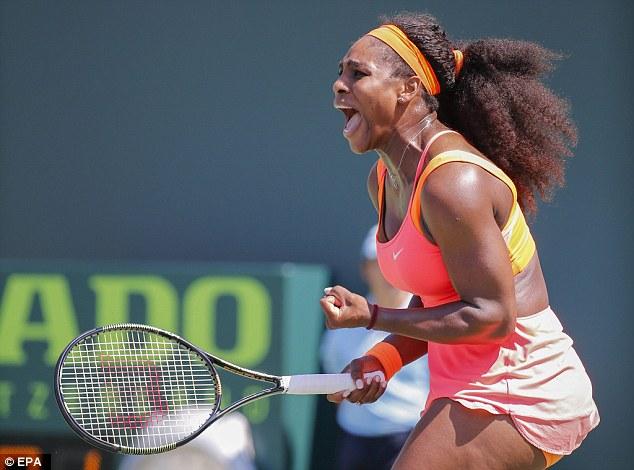 Serena Williams đối đầu với Simona Halep  tại bán kết Miami Open 2015