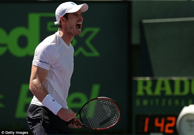 Andy Murray có cơ hội phục thù Novak Djokovic tại trận chung kết Miami Open 2015