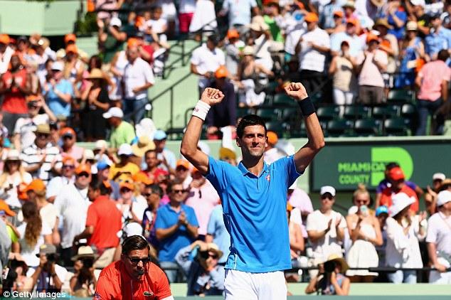 Novak Djokovic đã thiết lập một kỷ lục tại Miami Master với 5 lần vô địch