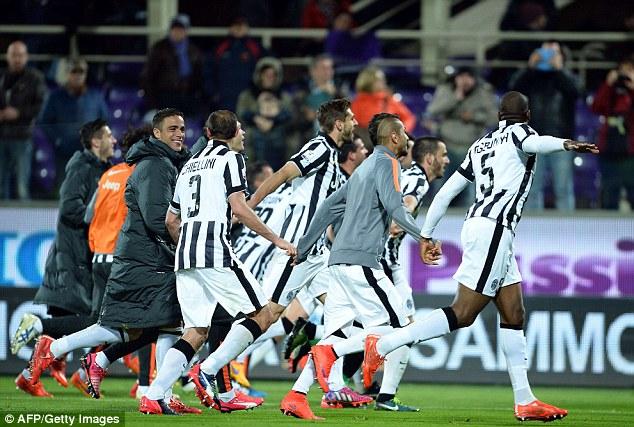 Juventus đã có một cú ngược dòng ngoạn mục trước Fiorentina