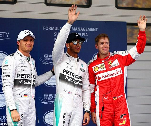 Lewis Hamilton lần thứ 3 liêp tiếp giành Pole