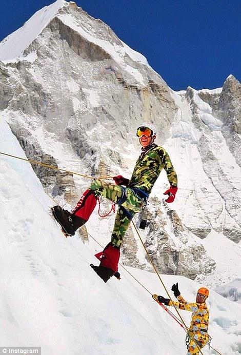 Dan Fredinburg là một trong số những người được xác định đã tử nạn trên đỉnh Everest trong cơn lở tuyết kinh hoàng