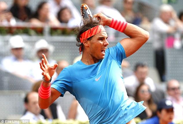 Rafael Nadal thẳng tiến vào vòng 3 Madird Open 2015