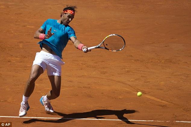 Rafael Nadal dễ dàng ghi tên mình vào tứ kết Madrid Open