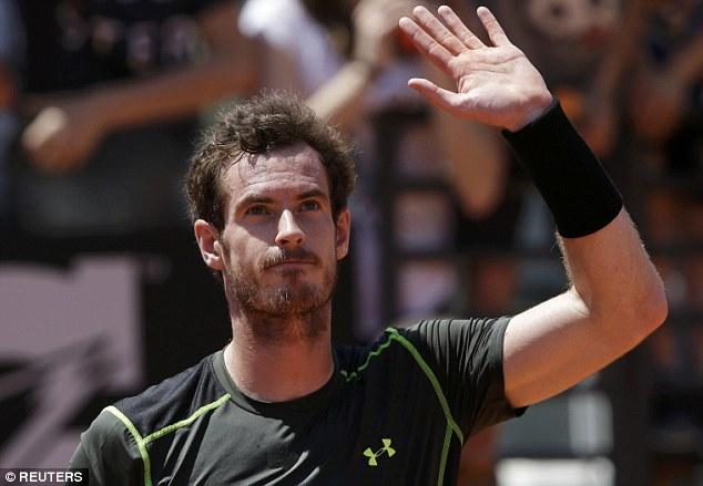 Andy Murray xin rút lui vì thể lực không đảm bảo