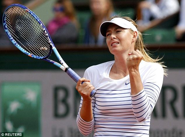 Maria Sharapova dễ dàng tiến vào vòng 2