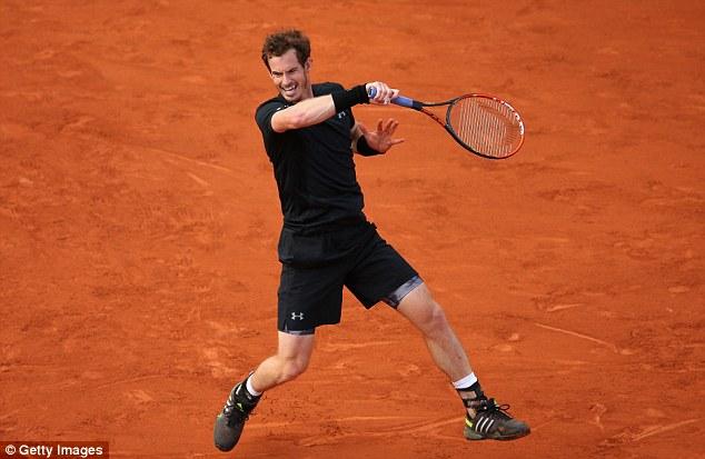 Andy Murray cũng giành quyền vào vòng 2