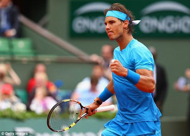 Rafael Nadal có khới đầu thuận lợi tại Pháp mở rộng 2015