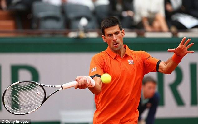 Novak Djokovic chưa từng một lần vô địch Pháp mở rộng