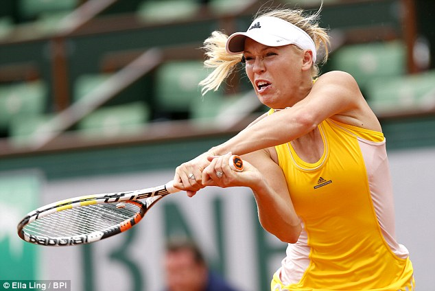 Hạt giống số 5 Caroline Wozniacki bất ngờ bị loại