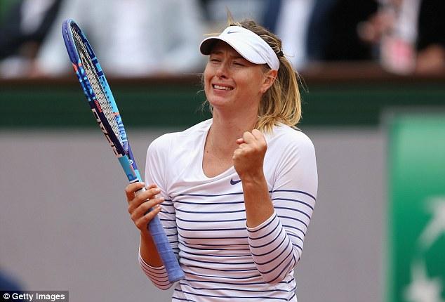 Maria Sharapova đã giành quyền vào vòng 4 Pháp mở rộng 2015