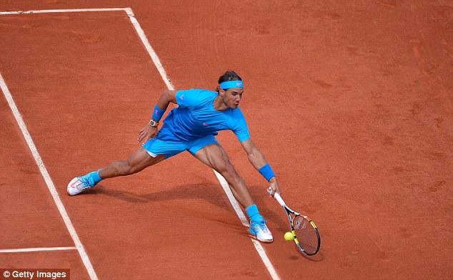 Rafael Nadal dễ dàng giành vé vào vòng 4 Pháp mở rộng 2015