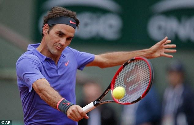 Trận đấu giữa Federer và Gael Monfils sẽ tiếp tục diễn ra trong ngày hôm nay 1/6