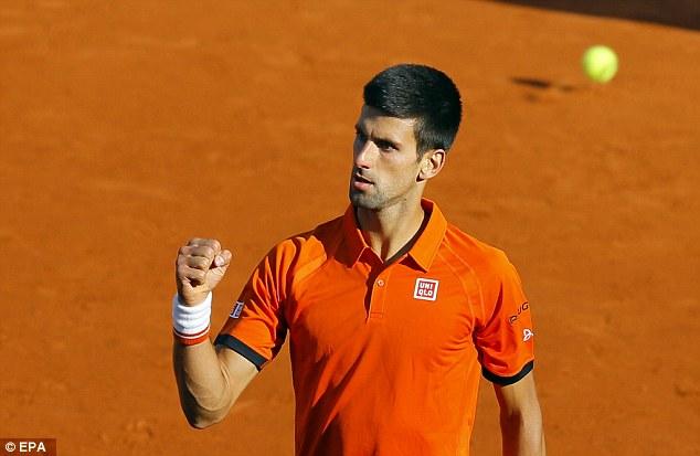 Novak Djokovic sẽ là đối thủ của Rafael Nadal