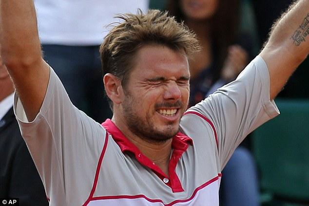 Dù đối thủ Roger Federer phải nhờ đến sự chăm sóc của bác sĩ song chiến thắng của Stan Wawrinka là hoàn toàn xứng đáng