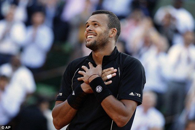 Jo-Wilfried Tsonga xuất sắc đánh bại Kei Nishikori sau 5 set đấu