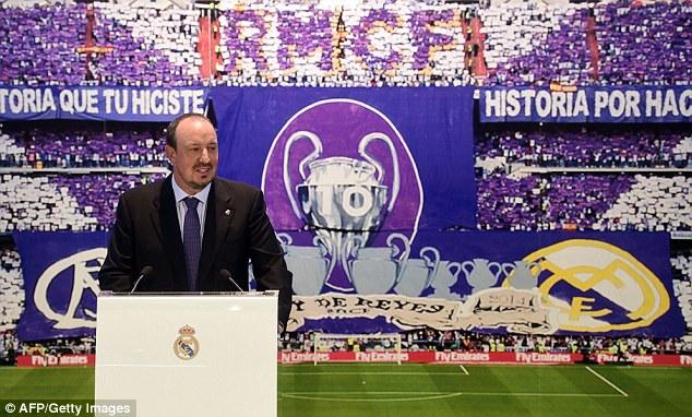 Rafa Benitez đã chính thức trở thành HLV của Real Madrid