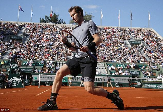 Andy Murray lần thứ 3 trong sự nghiệp vào đến bán kết Pháp mở rộng