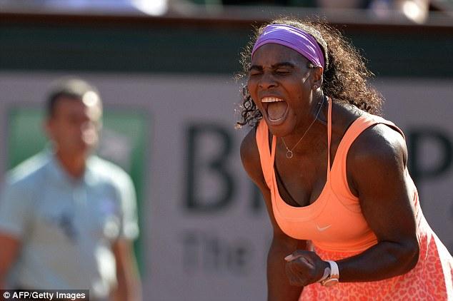 Serena Williams lần thứ 3 vào chung kết Pháp mở rộng