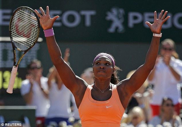 Chiến thắng vô cùng có ý nghĩa của Serena Williams