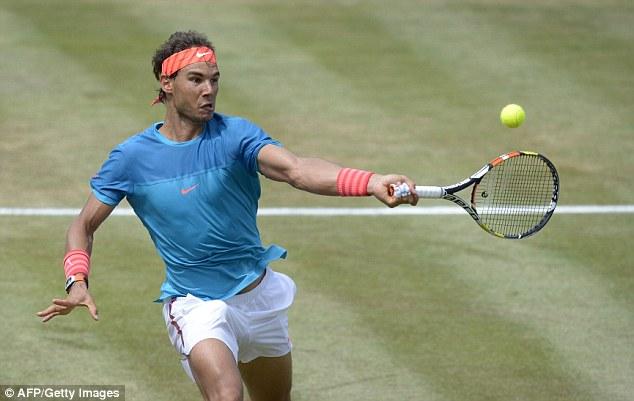 Rafael Nadal vô địch một giải đấu trên mặt sân cỏ sau gần 5 năm chờ đợi