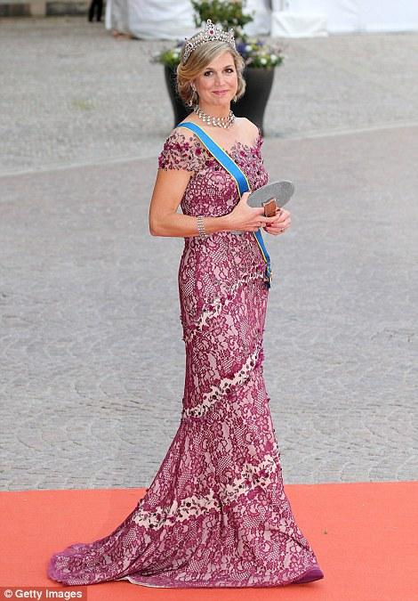 Nữ hoàng Maxima của Hà Lan