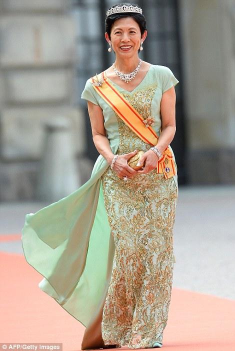 Công chúa Hisako Takamado của Nhật Bản tới chúc mừng đám cưới