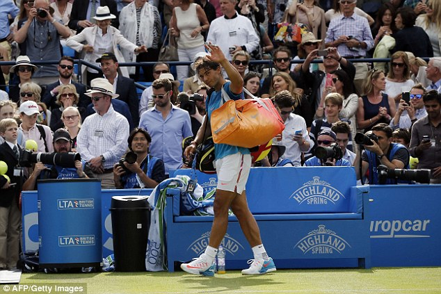 Nadal sớm chia tay giải đấu