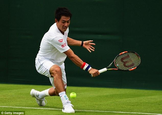 Nishikori cho thấy anh đã bình phục chấn thương khi thi đấu đủ 5 set tại vòng 1 Wimbledon