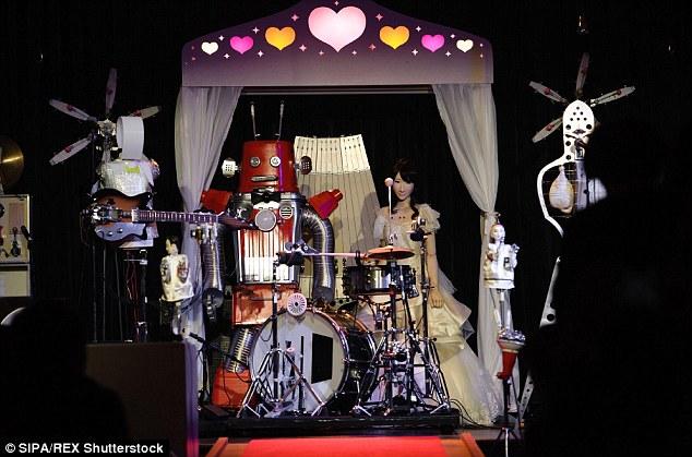 Ban nhạc robot